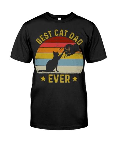 Mens Best Cat Dad Ever