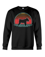 Schnauzer Dog Retro Vintage 80s Style Animal Lover Crewneck Sweatshirt thumbnail