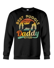 Puggle Dad Best Daddy Dog Lover Retro Vintage Crewneck Sweatshirt thumbnail