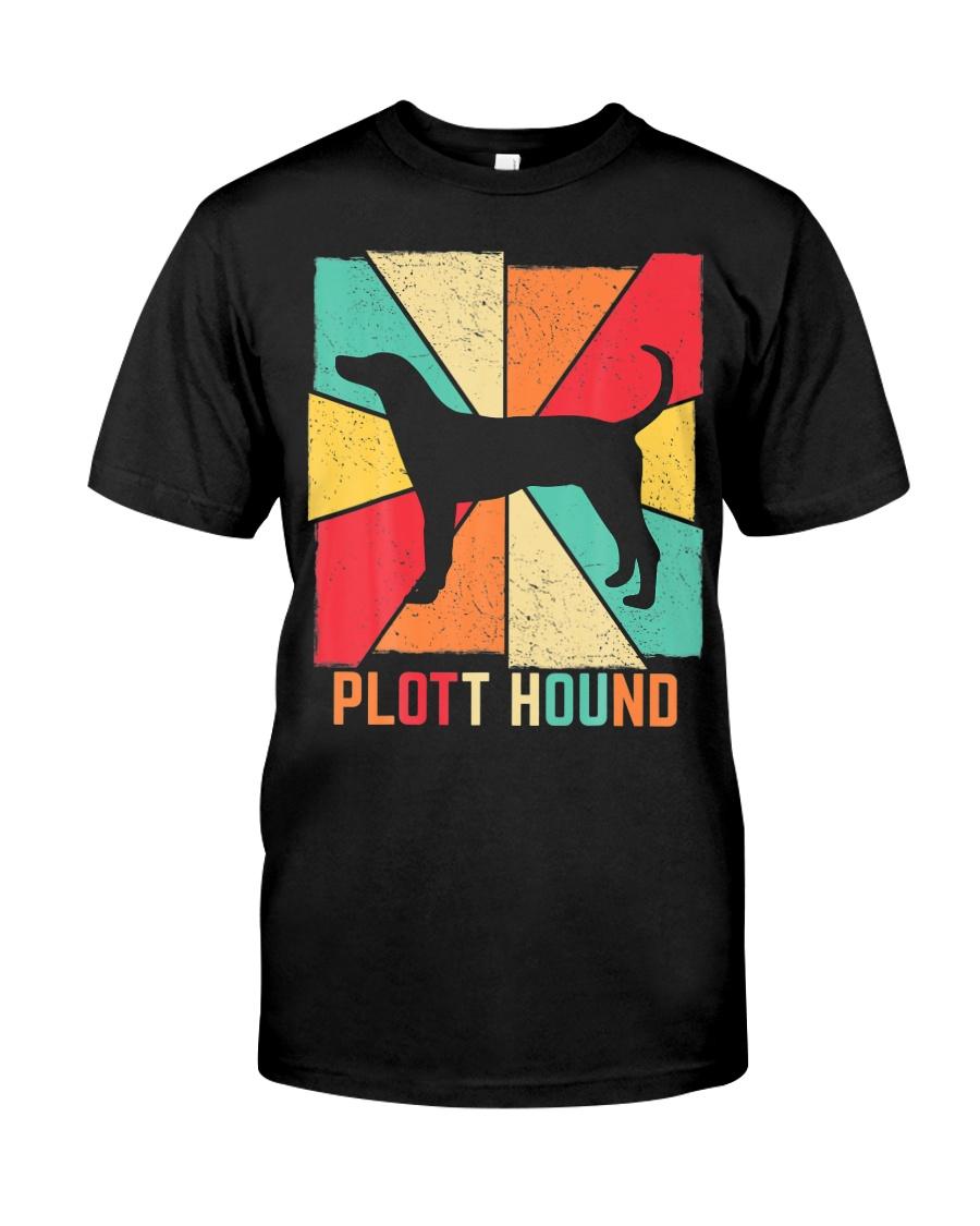 Love Best Plott Hound Dog Owner Ever Vintage Retro Classic T-Shirt