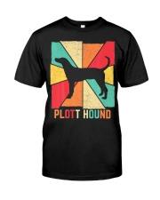 Love Best Plott Hound Dog Owner Ever Vintage Retro Classic T-Shirt front