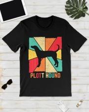 Love Best Plott Hound Dog Owner Ever Vintage Retro Classic T-Shirt lifestyle-mens-crewneck-front-17