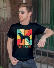 Love Best Plott Hound Dog Owner Ever Vintage Retro Classic T-Shirt lifestyle-mens-crewneck-front-2