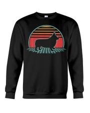 Corgi Retro Vintage Pembroke Welsh 80s Style Dog Crewneck Sweatshirt thumbnail