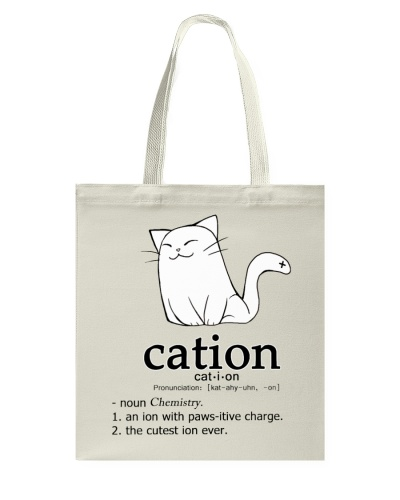 Cat-ion Cation science puns Funny