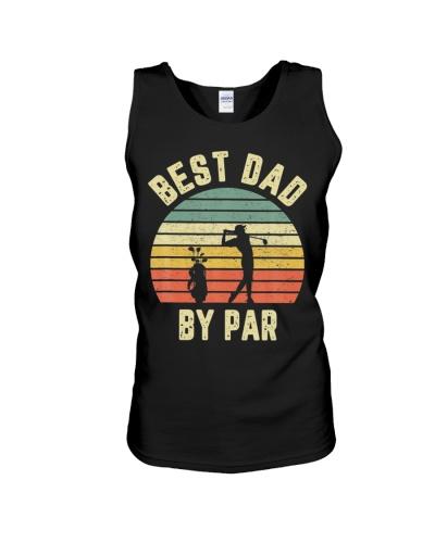 Vintage Best Dad By Par Golfing