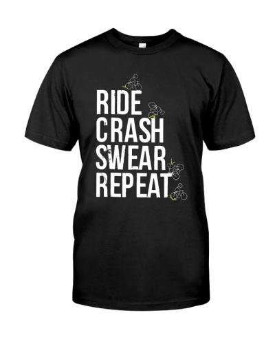 Ride crash swear repeat