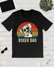 Boxer Dad Ever Vintage Daddy Classic T-Shirt lifestyle-mens-crewneck-front-17