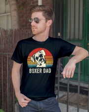 Boxer Dad Ever Vintage Daddy Classic T-Shirt lifestyle-mens-crewneck-front-2