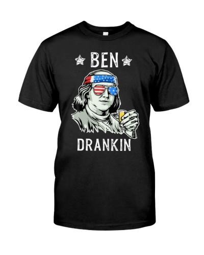 Benjamin Franklin4th of July Ben Drankin
