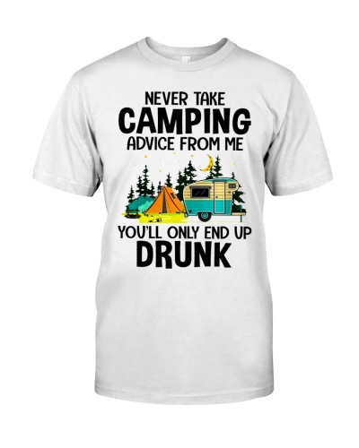 Never take camping advice from me you'll only end