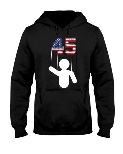 45 is a puppet presidental seal shirt