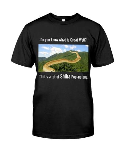 Shiba Popup The Great Wall