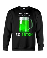Beer Tester So Irish Crewneck Sweatshirt thumbnail