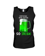 Beer Tester So Irish Unisex Tank thumbnail