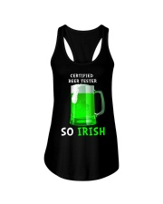 Beer Tester So Irish Ladies Flowy Tank thumbnail