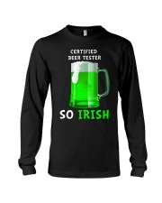Beer Tester So Irish Long Sleeve Tee thumbnail