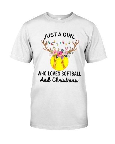 Just a girl Who loves softball and Christmas