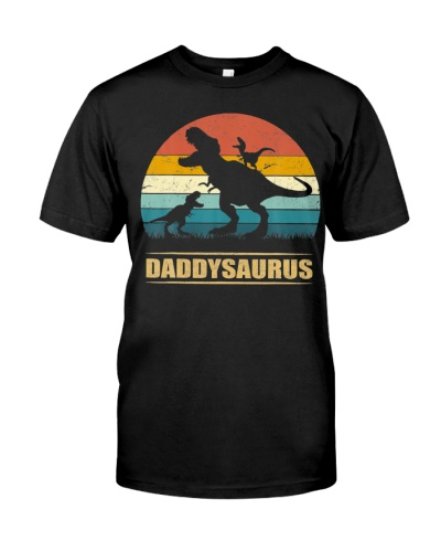 Daddy Dinosaur Daddysaurus 2 Two kids