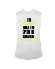 I'm faster than the speed of something slower Sleeveless Tee thumbnail