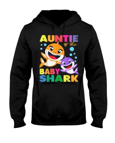 Aunt Of The Baby Shark Birthday Aunt Shark Shirt