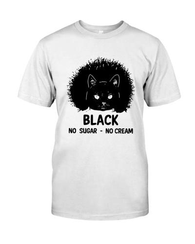 Black no sugar no cream Cat