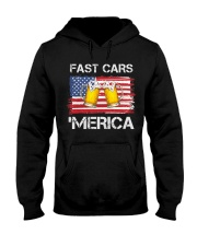 Fast car beer and merica Hooded Sweatshirt thumbnail