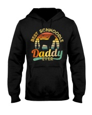 Schnoodle Dad Best Daddy Dog Lover Retro Vintage Hooded Sweatshirt thumbnail