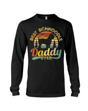 Schnoodle Dad Best Daddy Dog Lover Retro Vintage Long Sleeve Tee thumbnail