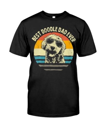 Best Doodle Dad Ever Goldendoodle