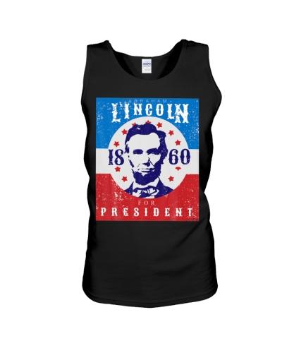 Abraham Lincoln T Shirt 4th Of July Tshirt USA Tee
