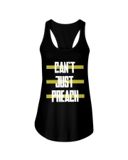 Cant just preach shirt Ladies Flowy Tank tile