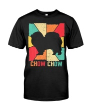 Love Best Chow Chow Dog Owner Vintage Retro Classic T-Shirt front