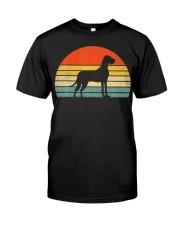 Great Dane Dog Retro Vintage Classic T-Shirt front
