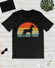 Great Dane Dog Retro Vintage Classic T-Shirt lifestyle-mens-crewneck-front-17