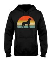 Great Dane Dog Retro Vintage Hooded Sweatshirt thumbnail