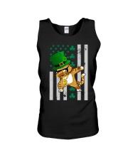 Dabbing Cat St Patricks Day  Unisex Tank thumbnail