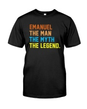 Emanuel The Man The Myth The Legend Classic T-Shirt front