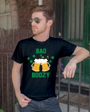 Bad and boozy Classic T-Shirt lifestyle-mens-crewneck-front-2