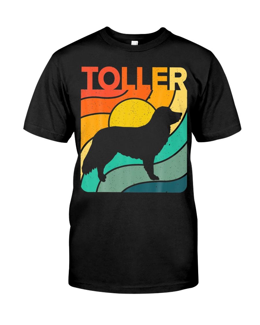 Nova Toller Vintage Retro Dog Classic T-Shirt