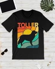 Nova Toller Vintage Retro Dog Classic T-Shirt lifestyle-mens-crewneck-front-17