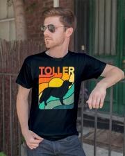 Nova Toller Vintage Retro Dog Classic T-Shirt lifestyle-mens-crewneck-front-2