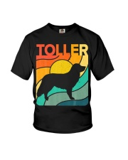 Nova Toller Vintage Retro Dog Youth T-Shirt thumbnail