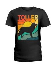 Nova Toller Vintage Retro Dog Ladies T-Shirt thumbnail