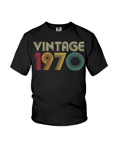 50th Birthday Gift Vintage 1970 Classic Men Women