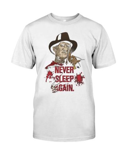 Never Sleep Again shirt