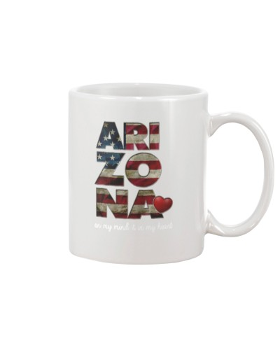 Arizona on my mind and in my heart shirt