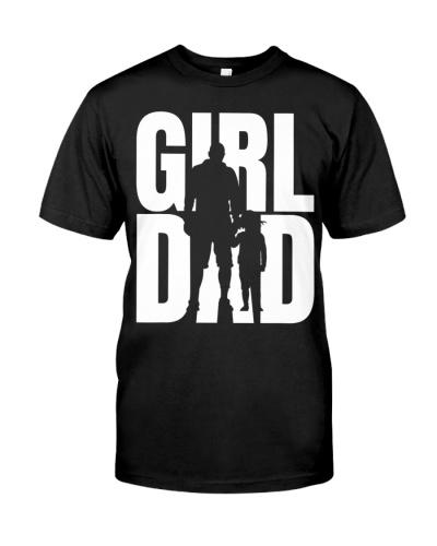 GirlDad Girl Dad Proud Father of Daughters Cute