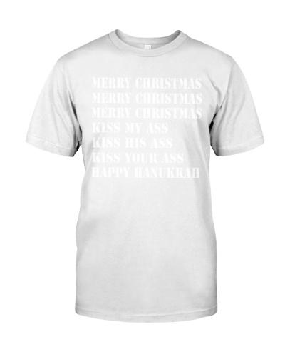 Merry Christmas Kiss Ass Happy Hanukkah