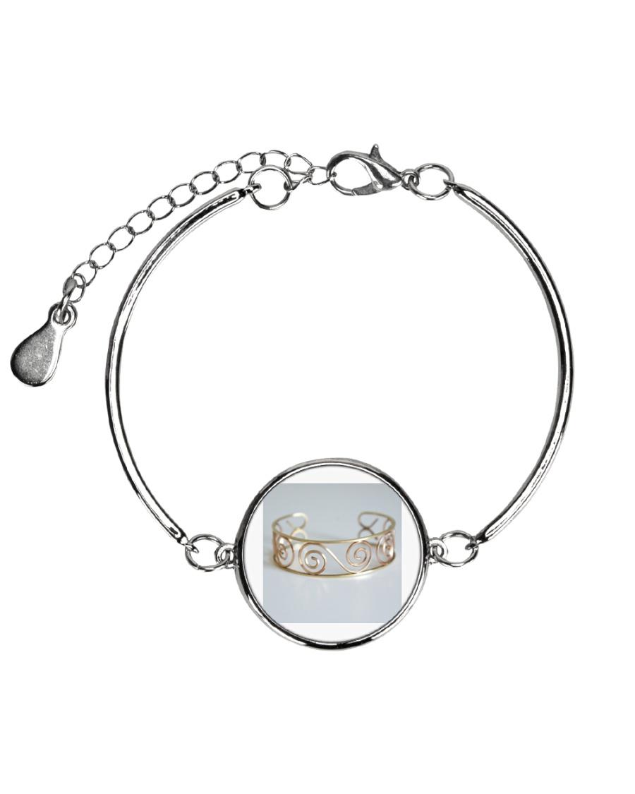 jewellery Metallic Circle Bracelet